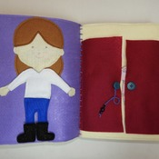 Quiet book - Mary's Book