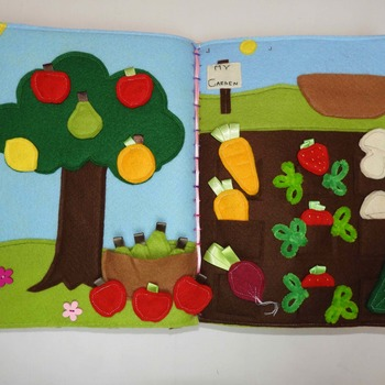 Quiet Book - The Garden Book