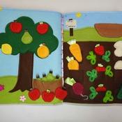 Quiet Book - The Garden Book