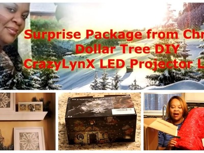 Surprise Package | Dollar Tree Pictures (DIY) | Projector Light Review!
