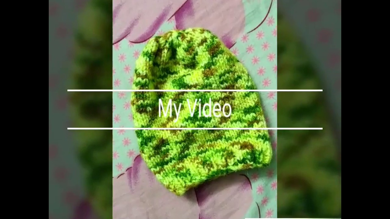 Woolen sweater designs | new design for woolen cap for kids or baby in hindi | woolen sweater making