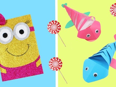 5 EASY SCHOOL FAIR CRAFT PROJECTS - SUPER COOL IDEAS