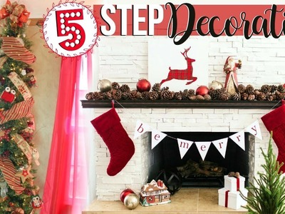 5 STEPS TO DECORATING A CHRISTMAS TREE LIKE A PROFESSIONAL | CHRISTMAS TREE HOW TO | Page Danielle