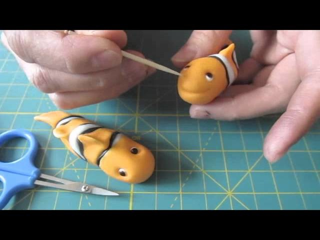 #8 How to make Clownfish Toppers