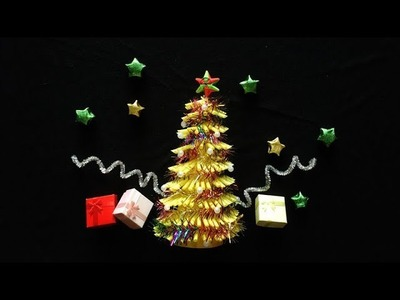 ABC TV | How To Make 3D Christmas Tree FromDrinking Straw - Craft Tutorial
