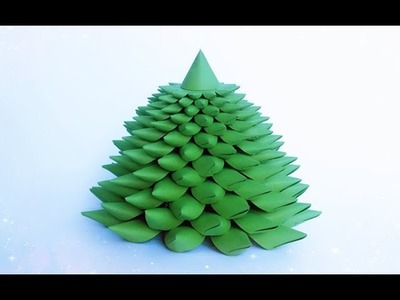 ABC TV | How To Make 3D Christmas Tree From Color Paper - Craft Tutorial