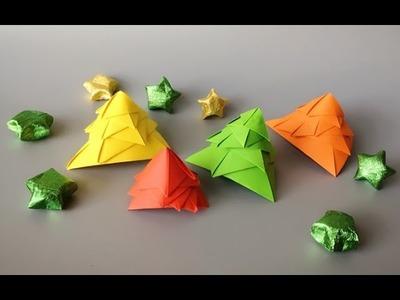 ABC TV | How To Make 3D Christmas Tree -  Origami Craft Tutorial