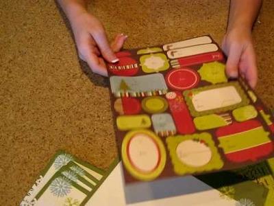 Becky Higgins Holiday Card Kit