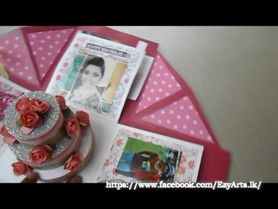 Birthday  box card To Sister