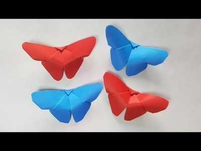 Butterfly Origami, Christmas Craft - Cute & Easy Butterfly (2) - Paper Craft Ideas #85