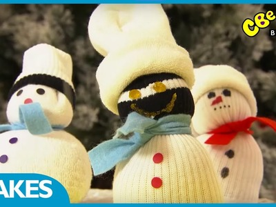 CBeebies Makes | How To Make A Sock Snowman