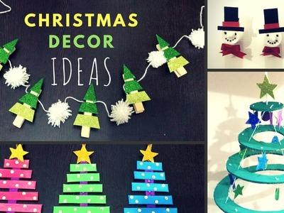 Christmas Decoration Ideas ???? How to Make Christmas Tree ????(Kids Craft)