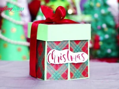 Christmas Gift Wrapping: Chocolate Box for Kids