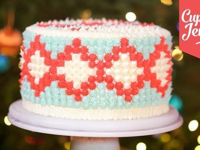 Christmas Jumper Cake How-To | Cupcake Jemma