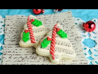 CHRISTMAS TREE COOKIES, HANIELA'S