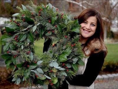 Christmas Wreath! ????????⛄️. Garden Answer