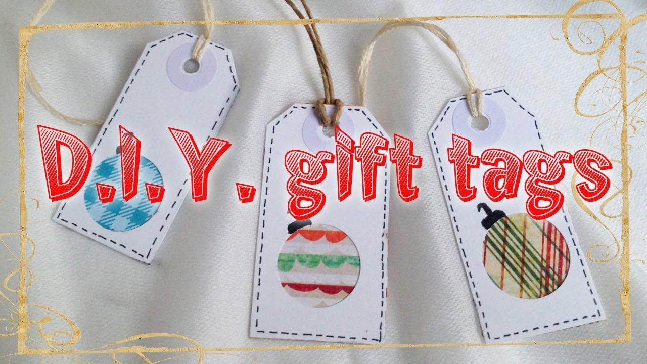 D.I.Y. gift tags ❄ Etichette fai da te