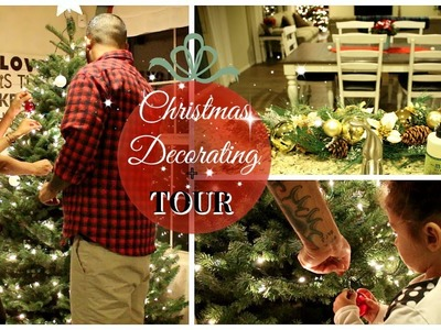 DECORATE WITH ME FOR CHRISTMAS 2017 & HOUSE TOUR
