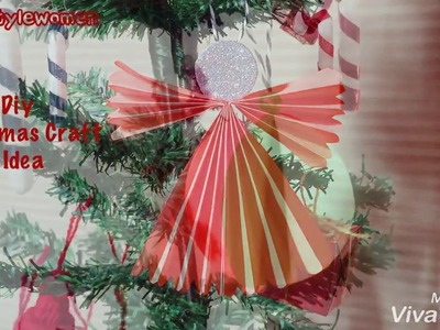 Diy 3 Easy Craft Idea for Kids | Christmas Craft Idea | Christmas Ornaments | Christmas Decoration
