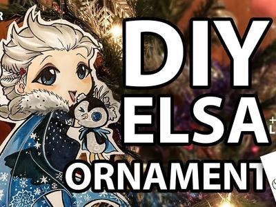 DIY Chibi Elsa Christmas ornament SLOW VIDEO