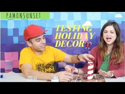 DIY Christmas Decor || Inspired by DIY and Craft