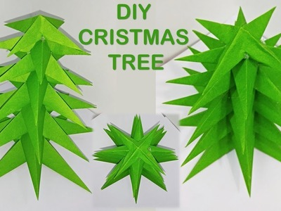 DIY | Christmas tree making with paper | how to make