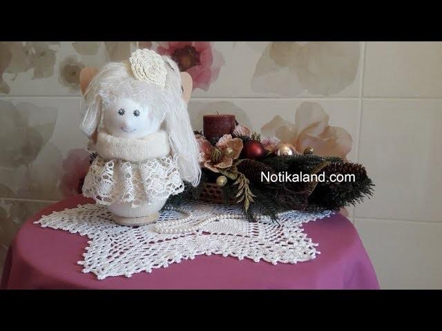 DIY Doll Angel EASY Craft ideas