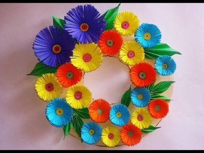 DIY-Wall Hanging Craft Ideas||DIY Room decoration Ideas|| DIY Christmas Wreath for Home Decoration