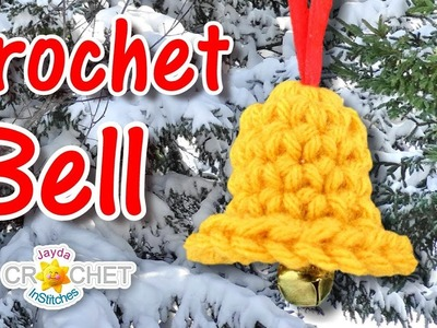 Easy Crochet Bell Ornament