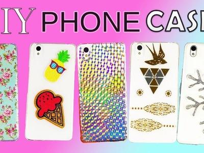 EASY DIY PHONE CASES I DIY DECEMBER EP. 9 I CHEAP PHONE CASE IDEAS