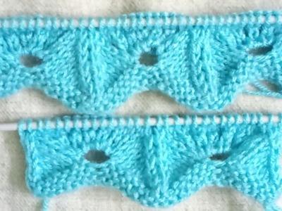 Easy Single Color Knitting Pattern No.94 |Hindi