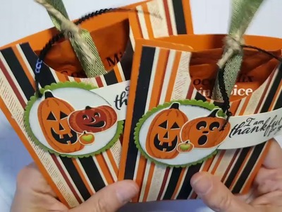 Fall for Holiday #5: Pumpkin Cocoa Pouch