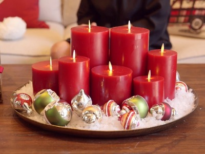 Holiday Decorating 1, 2, 3: Coffee Table Moment