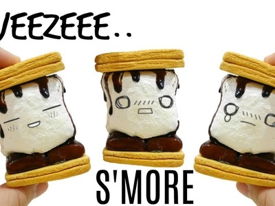 Homemade S'more Squeeze Toy Tutorial!