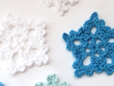 How to Crochet my Snowflake - Version 3