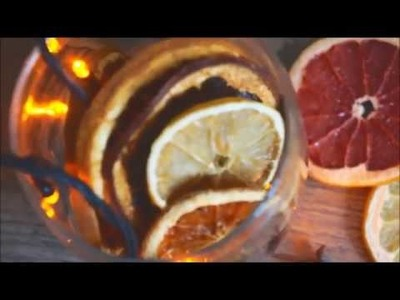 How to Dry Orange Slices in the Oven for Crafts