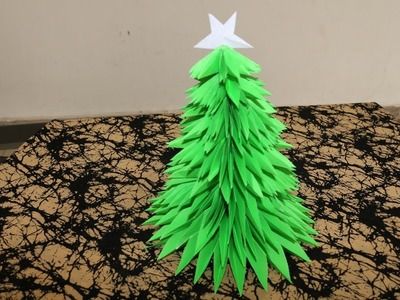 How to make a Christmas tree using Papers - DIY Xmas Tree - Handmade crafts