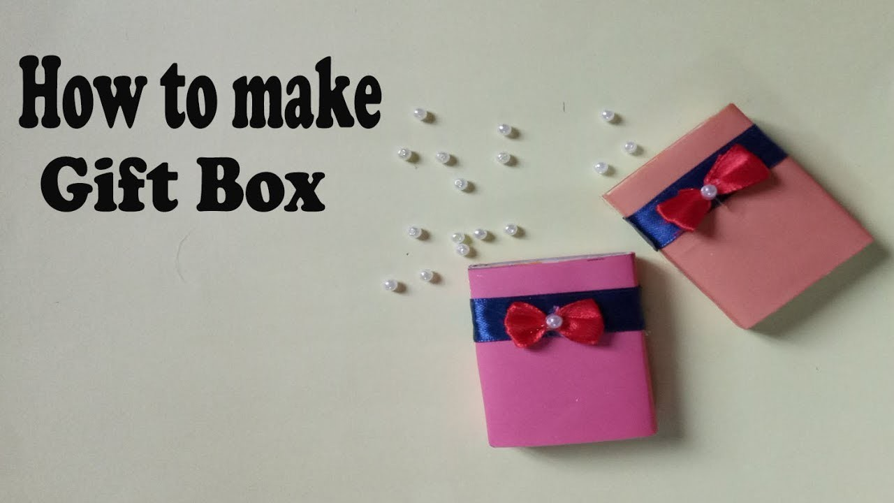 How to make a paper box.Step by step(Easy Craft)