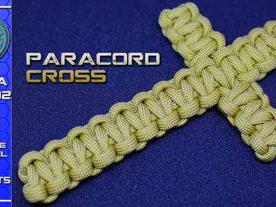 How to make a Paracord Cross Cobra weave Tutorial Simple Fast Easy Project