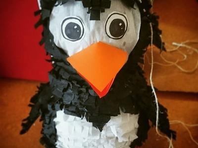 How to make a penguin pinata