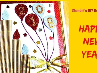 How to Make New Year Card    Easy and Quick Handmade Greeting    DIY Craft   