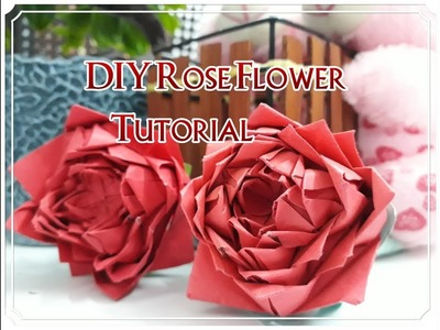 Paper how to make paper rose flower simple and easy diy paper how to make paper rose flower simple and easy diy paper mightylinksfo