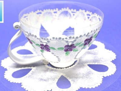 How to Reuse Plastic Bottles and Make a Wonderful Cup - Art and Craft Ideas