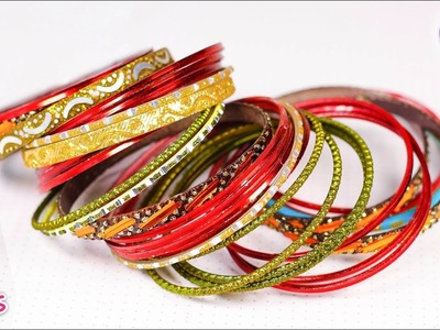 How to reuse waste metal bangles at home | Best out of waste | Artkala 365