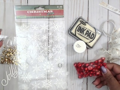 INEXPENSIVE GIFT IDEA | TUTORIAL | COME CRAFT WITH ME | EASY SIMPLE TAGS