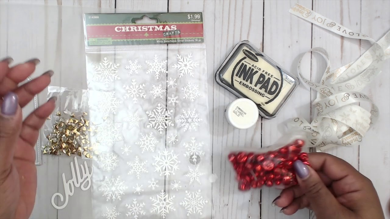 INEXPENSIVE GIFT IDEA   TUTORIAL   COME CRAFT WITH ME   EASY SIMPLE TAGS