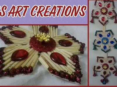 MATCHSTICK CRAFT IDEA. MATCHSTICK ART. WALL HANGING. ROOM DECOR. HOME DECOR – SS ART CREATIONS