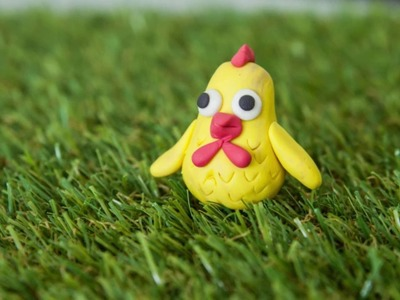 Modelling Clay - How to Make a Chicken (Beginner Level)
