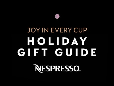 Nespresso Holiday Gift Guide, Joy In Every Cup | USA