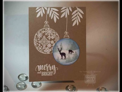 Ornament Scene Card